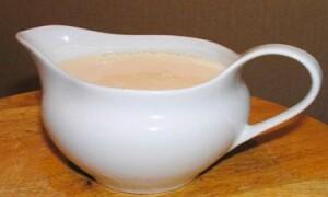 Как приготовить молочный соус к овощам