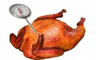Рекомендации по температуре для приготовления пищи