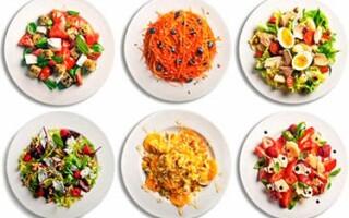 Какой салат приготовить на завтрак, обед и ужин