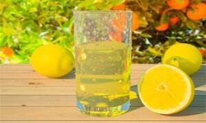 Классический лимонад из лимона