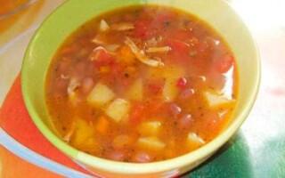 Вкусный рецепт фасолевого супа