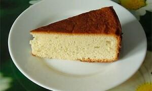 Приготовление английского бисквита