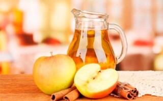 Вкусный компот из свежих яблок