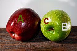 Витамины в яблоке