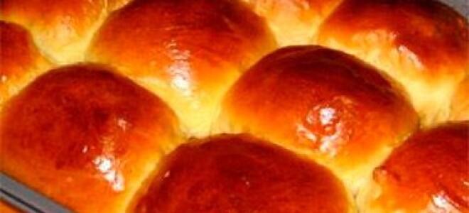 Рецепт обычных булочек