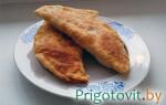 Чебуреки — пошаговый рецепт приготовления на сковороде с фото