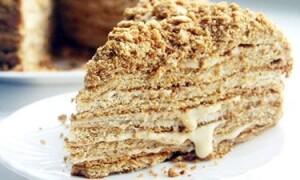 Торт «Медовый» в домашних условиях