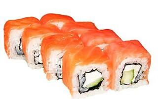 Как приготовить суши из лосося