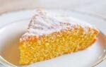 Как приготовить апельсиновый бисквит