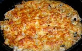 Рыба запеченная в духовке с сыром