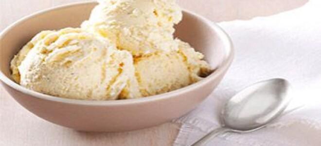 Как приготовить ванильное мороженое