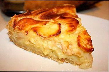 Пирог «Пьяные яблочки»