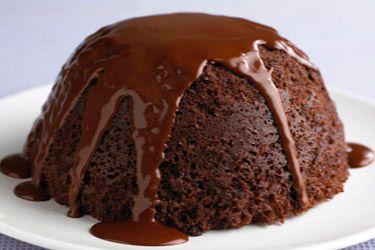 Пудинг шоколадный