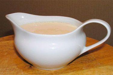 Соус молочный к овощам