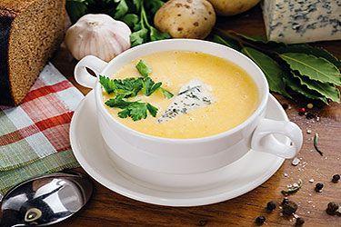 сырный суп из плавленного сырка